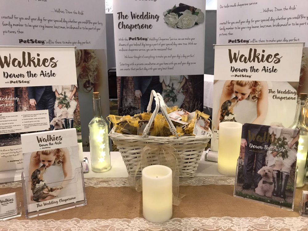 walkies down the aisle wedding fair